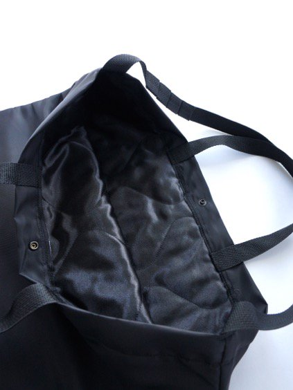 Engineered Garments Carry All Tote - Flight Satin Nylon (BLACK)2