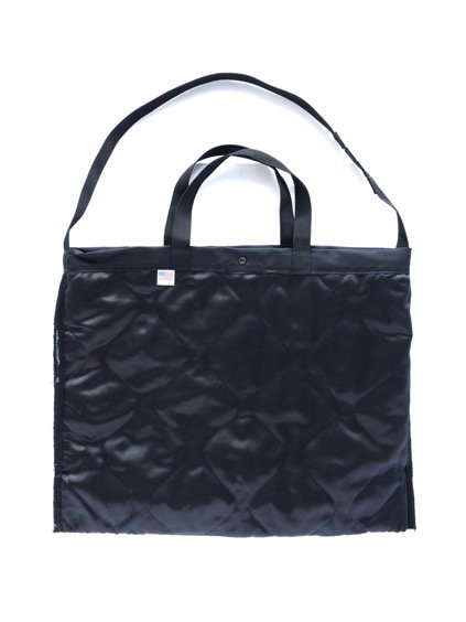 Engineered Garments Carry All Tote - Flight Satin Nylon (BLACK)3