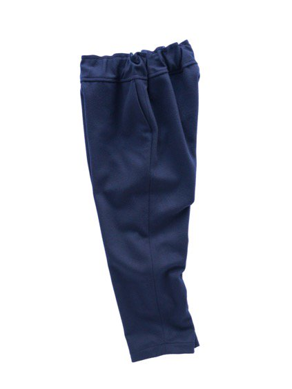 FIRMUM SUPER 100S WOOL LODEN LIKE CLOTH EASY PANTS (NAVY)3