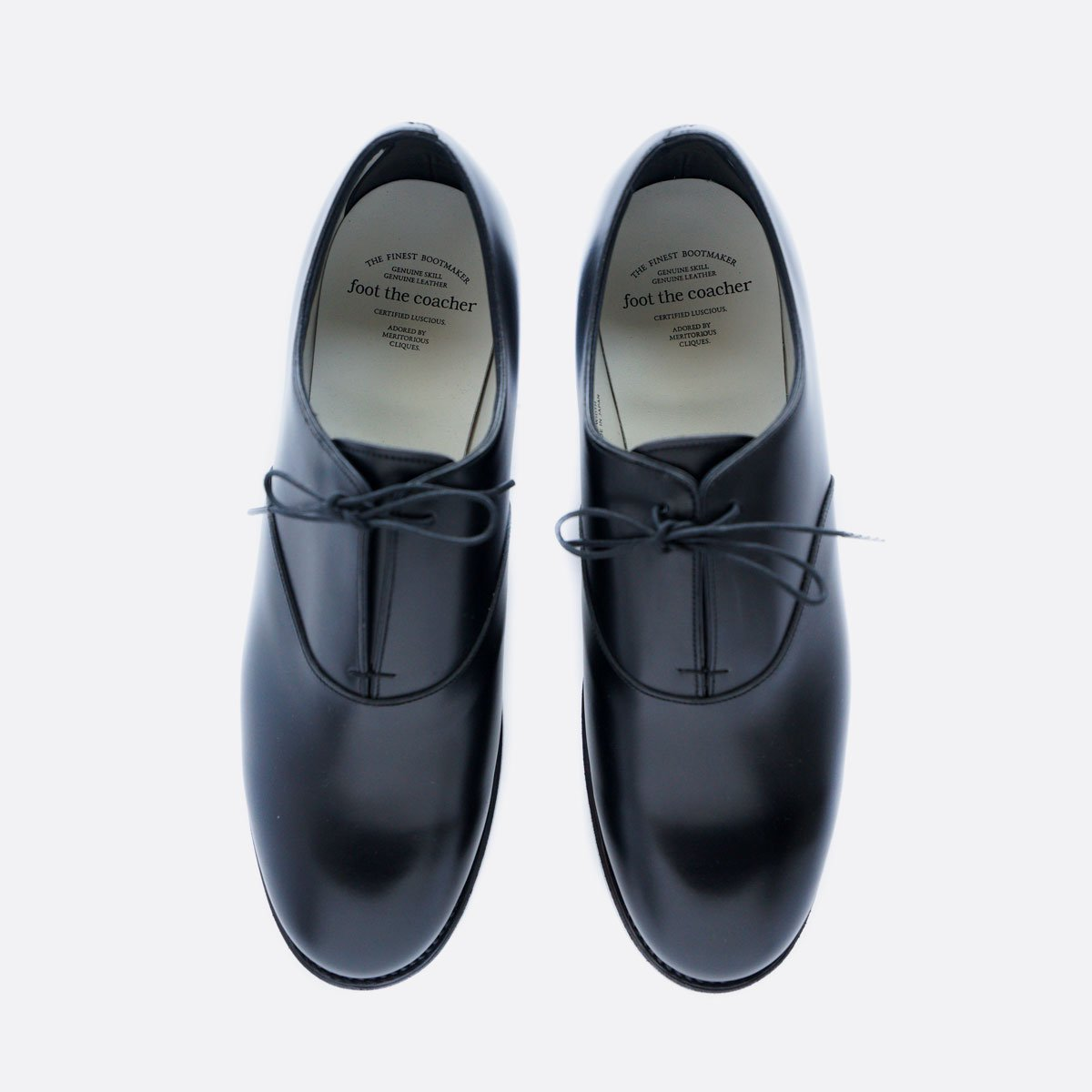 foot the coacher SINGLE EYELET (BLACK)3
