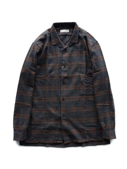 COLINA Gardener Shirts Soft Flannel  (Gray)