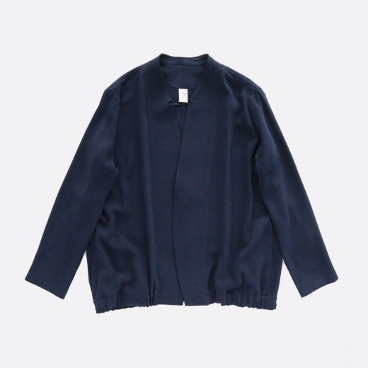 ACETATE & POLYESTER  DOUBLE CLOTH JACKET