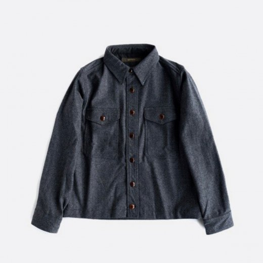 STRETCH HERRINGBONE 4POCKET BLOUSON