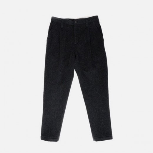 WOOL & GAUZE CROPPED PANTS