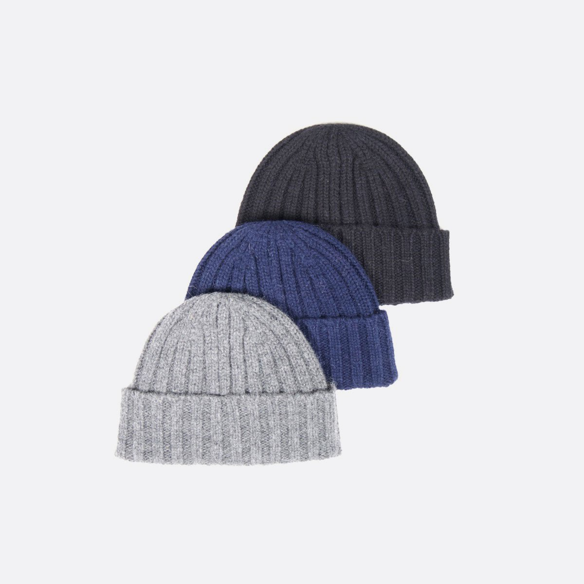 THE INOUE BROTHERS…  Rib Hat (Navy)(Grey)(Black)