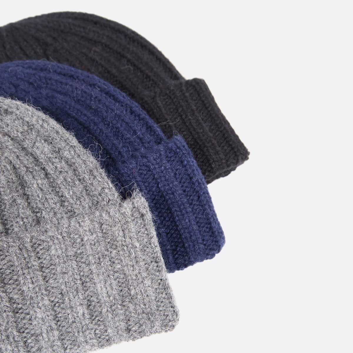 THE INOUE BROTHERS…  Rib Hat (Navy)(Grey)(Black)2
