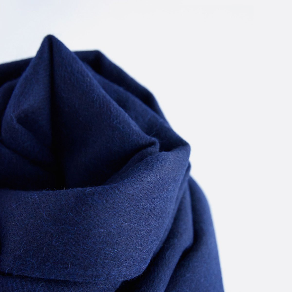 THE INOUE BROTHERS…  Large Brushed Stole (Navy)4
