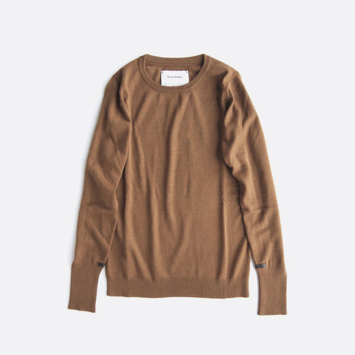 THE INOUE BROTHERS…  Crew Neck Pullover (Camel)