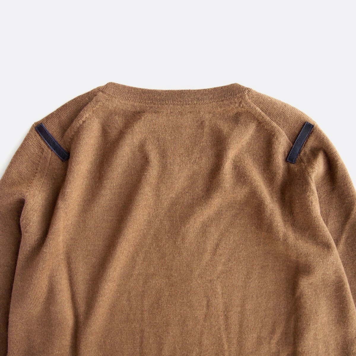 THE INOUE BROTHERS…  Crew Neck Pullover (Camel)4