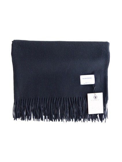THE INOUE BROTHERS…  Large Brushed Stole (Black)