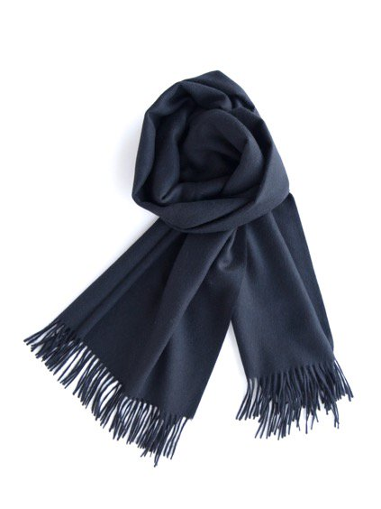 THE INOUE BROTHERS…  Large Brushed Stole (Black)4