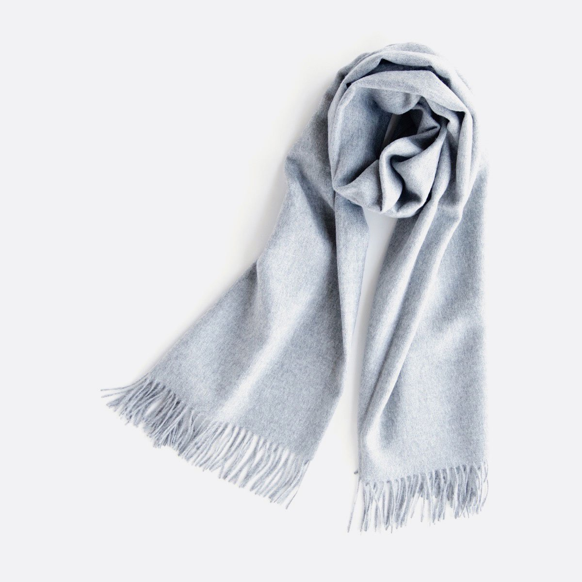 THE INOUE BROTHERS…  Large Brushed Stole (Light Grey)2