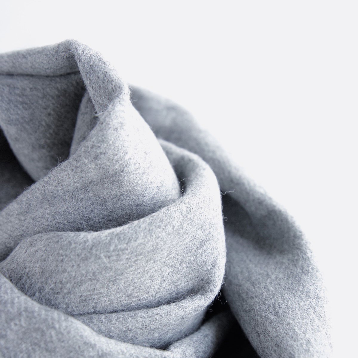 THE INOUE BROTHERS…  Large Brushed Stole (Light Grey)4