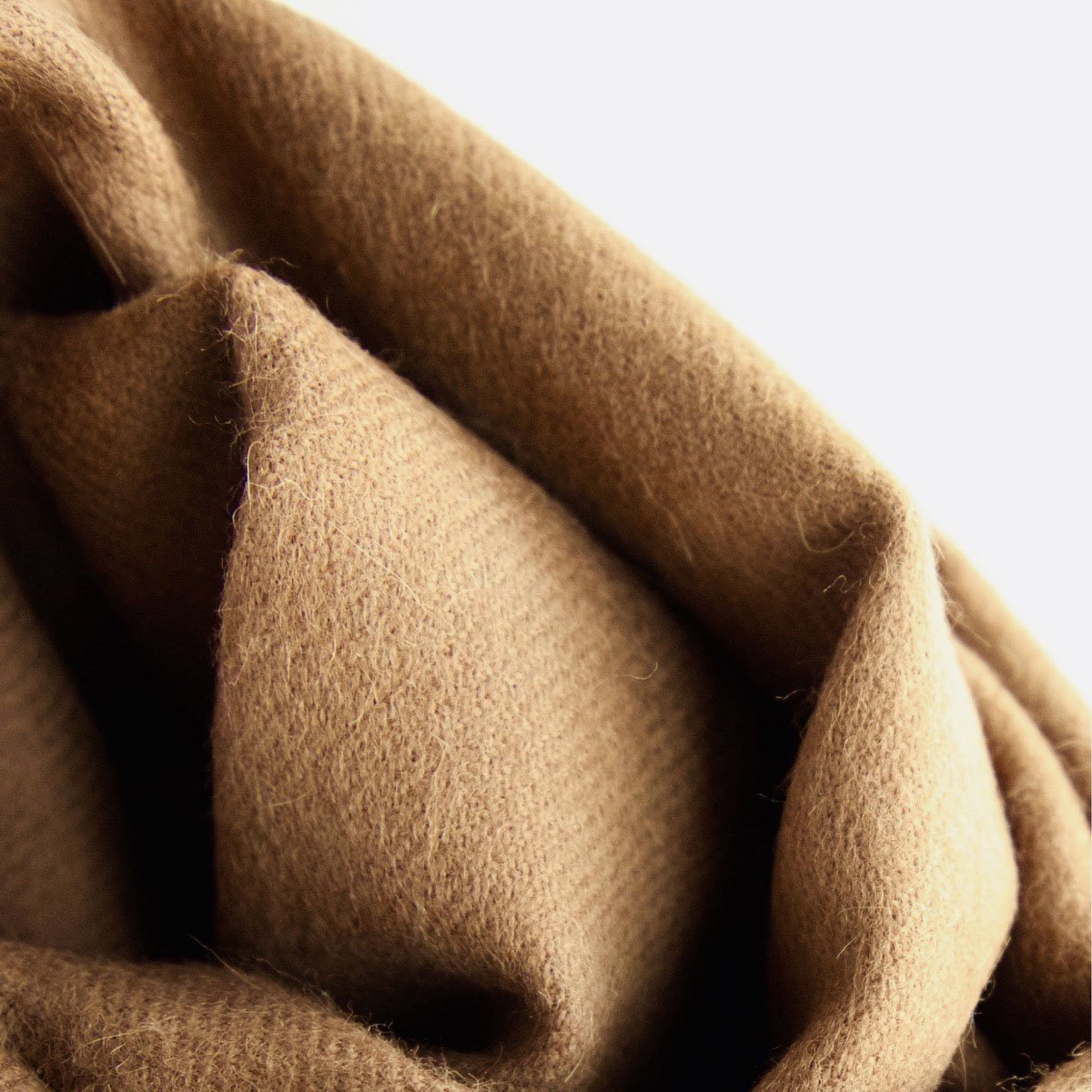 THE INOUE BROTHERS…  Large Brushed Stole (Camel)4