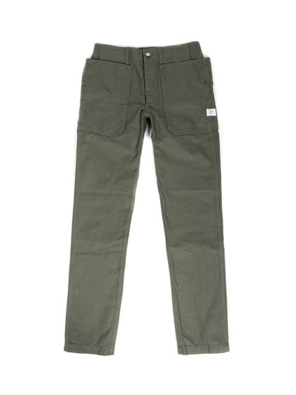 SASSAFRAS FALL LEAF SPRAYER PANTS BACK SATIN(OLIVE)