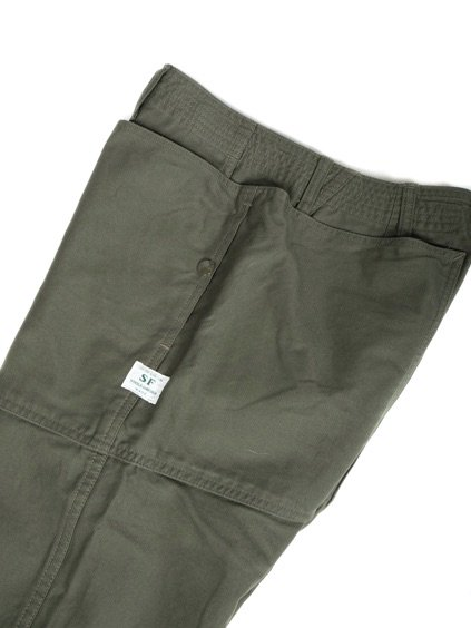 SASSAFRAS FALL LEAF SPRAYER PANTS BACK SATIN(OLIVE)2