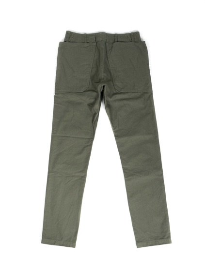 SASSAFRAS FALL LEAF SPRAYER PANTS BACK SATIN(OLIVE)4