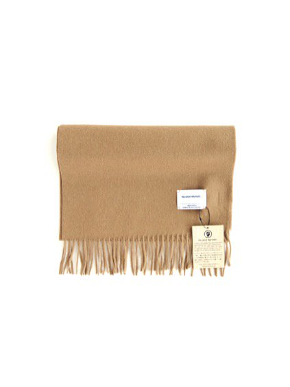 THE INOUE BROTHERS…  Brushed Scarf (Camel)