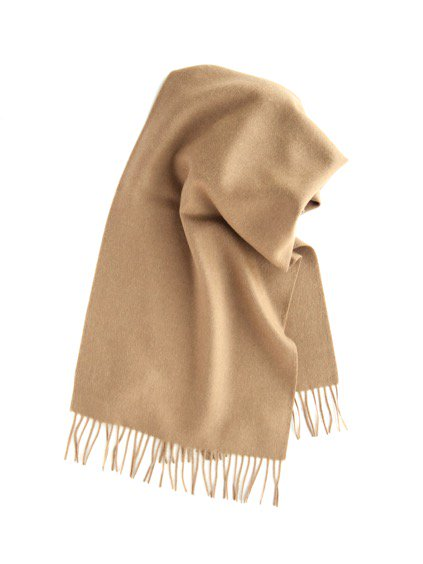 THE INOUE BROTHERS…  Brushed Scarf (Camel)2