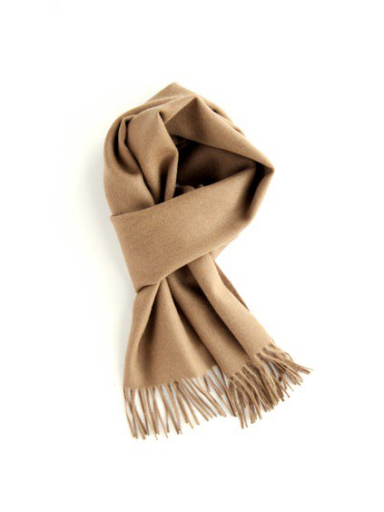 THE INOUE BROTHERS…  Brushed Scarf (Camel)3
