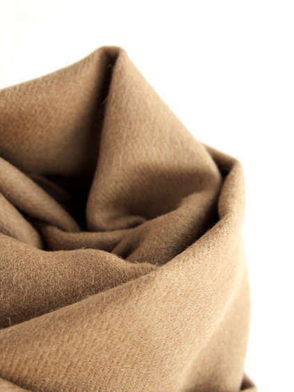 THE INOUE BROTHERS…  Brushed Scarf (Camel)4