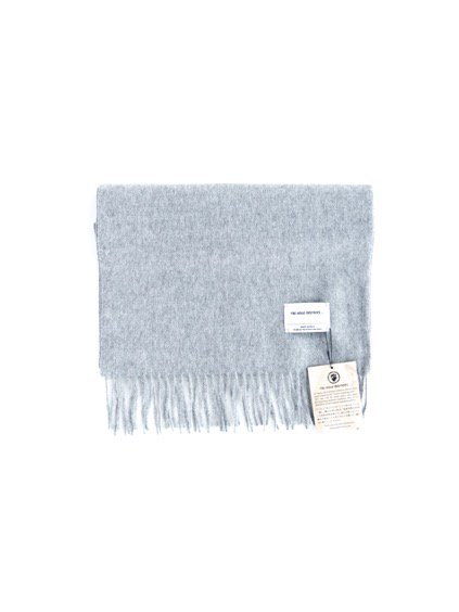 THE INOUE BROTHERS…  Brushed Scarf (Light Grey)