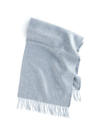 THE INOUE BROTHERS…  Brushed Scarf (Light Grey)2