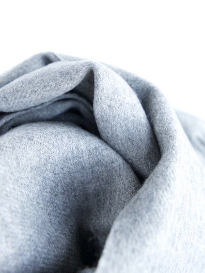 THE INOUE BROTHERS…  Brushed Scarf (Light Grey)4