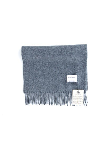 THE INOUE BROTHERS…  Brushed Scarf (Grey)