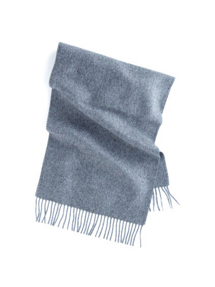 THE INOUE BROTHERS…  Brushed Scarf (Grey)2