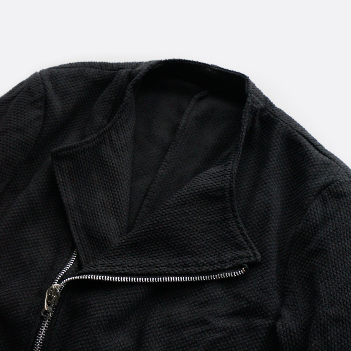 COLINA Sashiko W-Riders Jacket  (Antique black)3