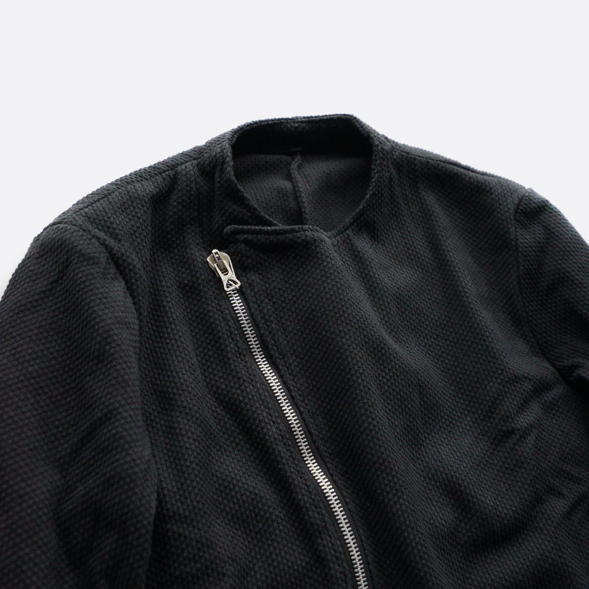 COLINA Sashiko W-Riders Jacket  (Antique black)4