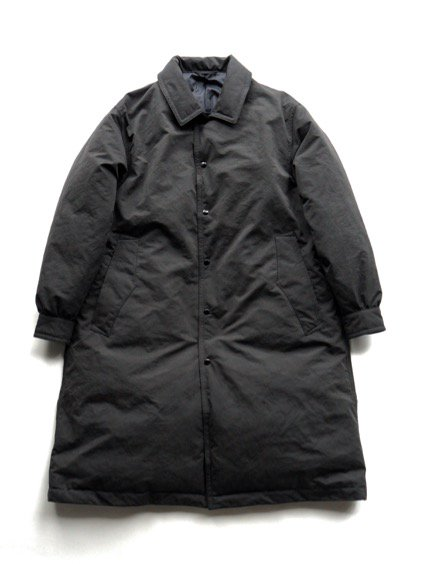 Porter Classic  WEATHER DOWN COAT (BLACK)