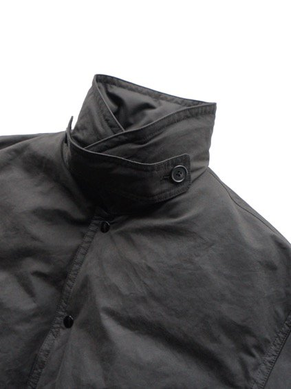 Porter Classic  WEATHER DOWN COAT (BLACK)2