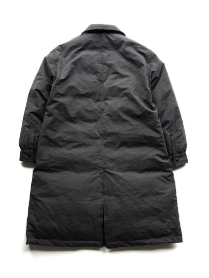 Porter Classic  WEATHER DOWN COAT (BLACK)4