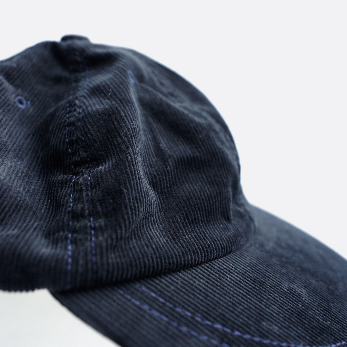 ENDS & MEANS  6PANEL CAP CORDUROY (NAVY)3