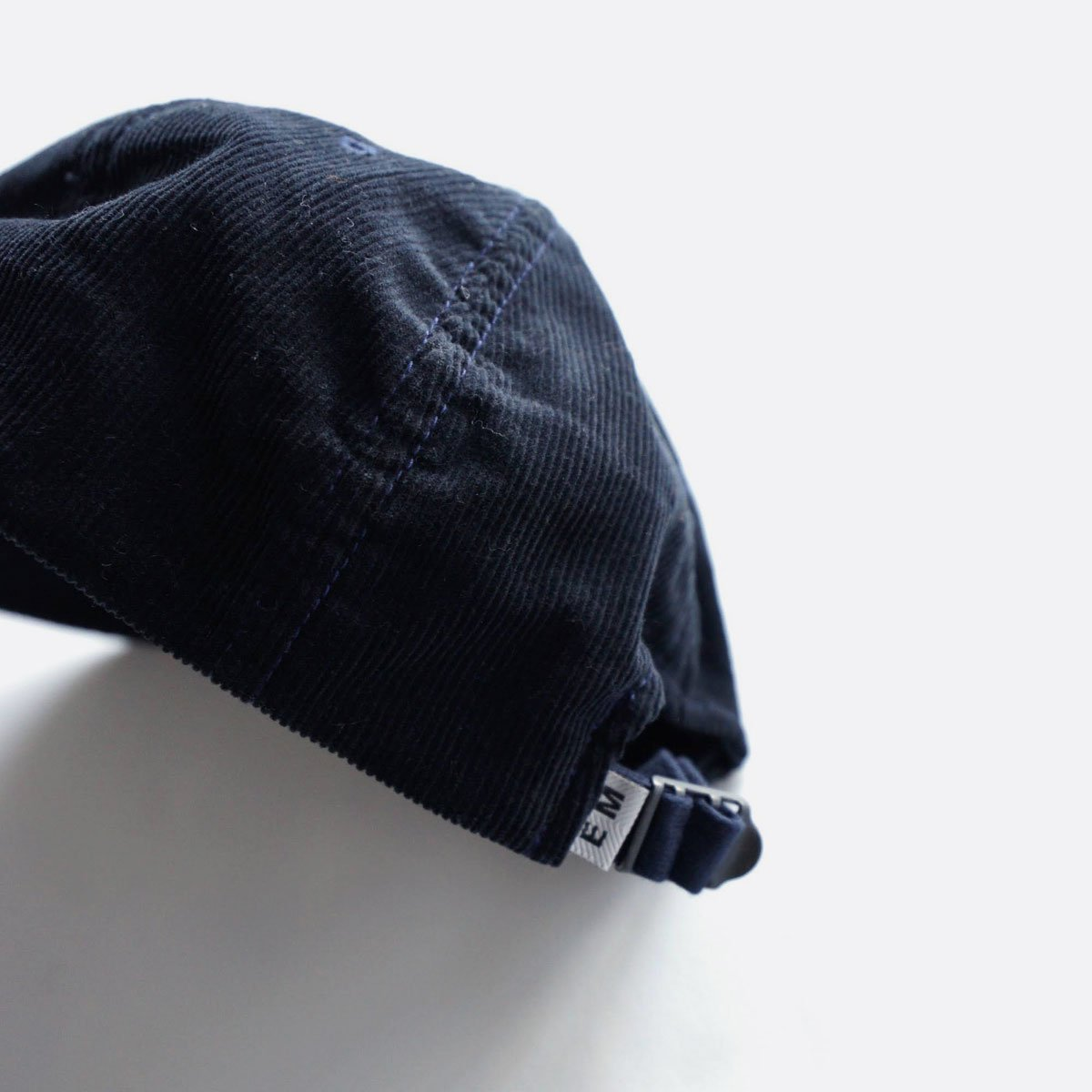 ENDS & MEANS  6PANEL CAP CORDUROY (NAVY)4
