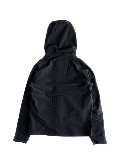 DESCENTE ALLTERRAIN   STRETCH HOODED FLEECE JACKET (BLACK)4