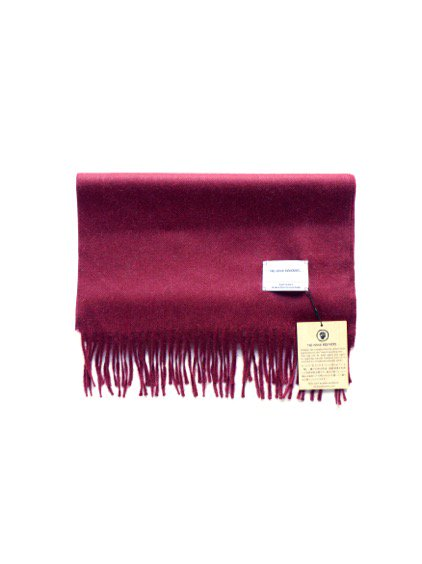 THE INOUE BROTHERS…  Brushed Scarf (Burgundy)1