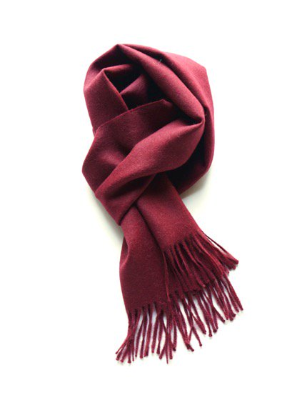 THE INOUE BROTHERS…  Brushed Scarf (Burgundy)4