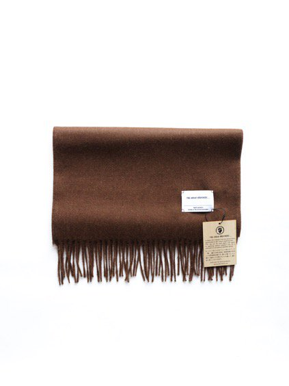 THE INOUE BROTHERS…  Brushed Scarf (Brown)