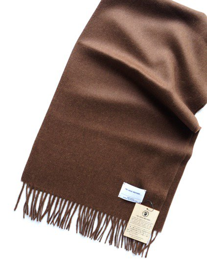 THE INOUE BROTHERS…  Brushed Scarf (Brown)4
