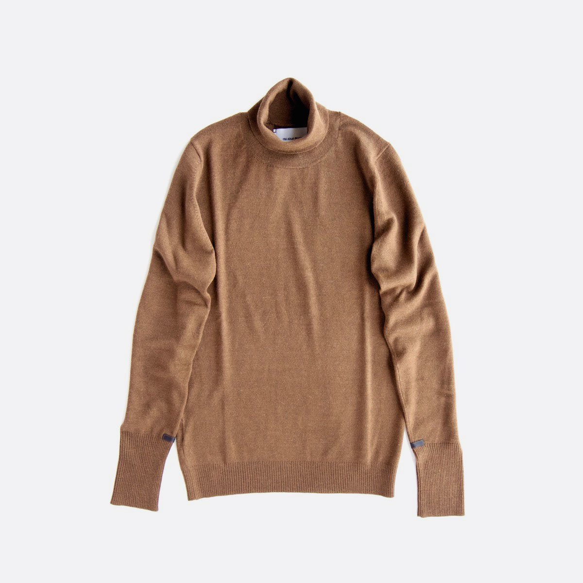 THE INOUE BROTHERS…  Turtle Neck Pullover (Camel)