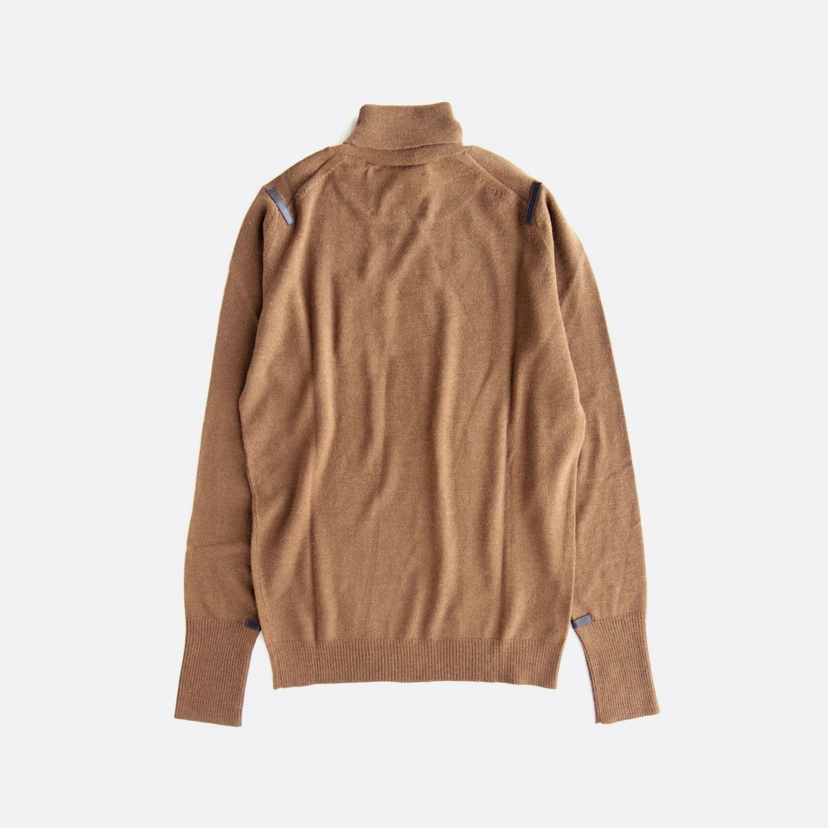 THE INOUE BROTHERS…  Turtle Neck Pullover (Camel)2