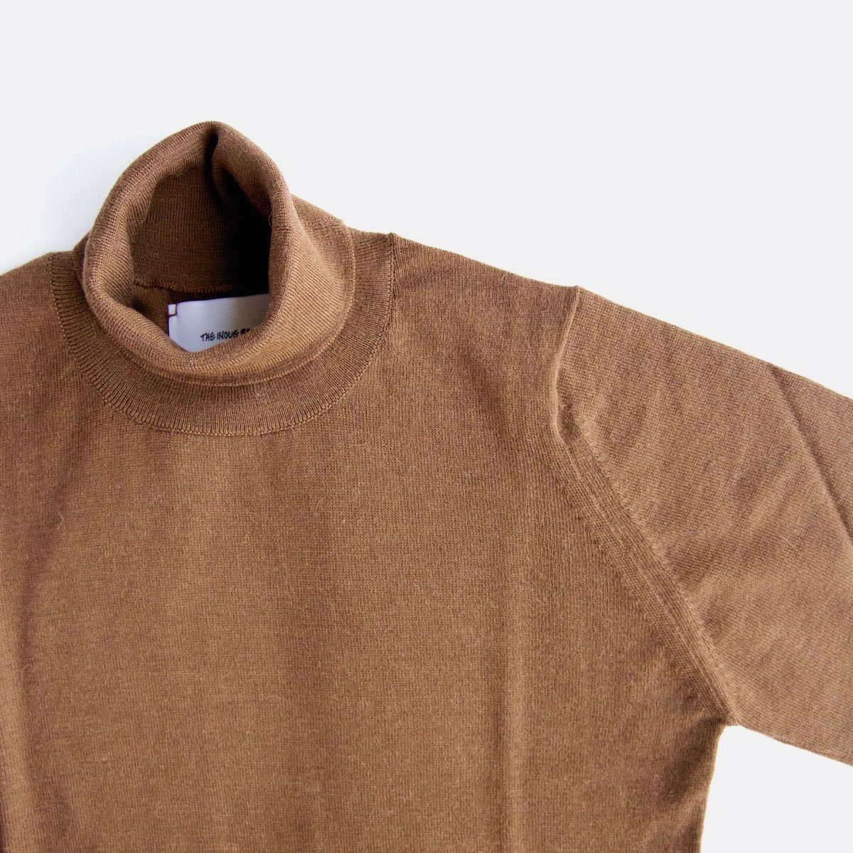 THE INOUE BROTHERS…  Turtle Neck Pullover (Camel)3