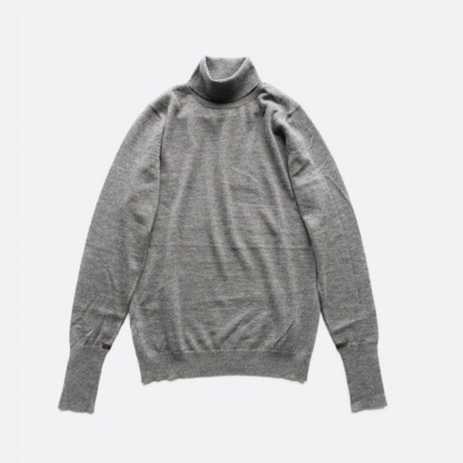 HIGH GAUGE TURTLE NECK PULLOVER