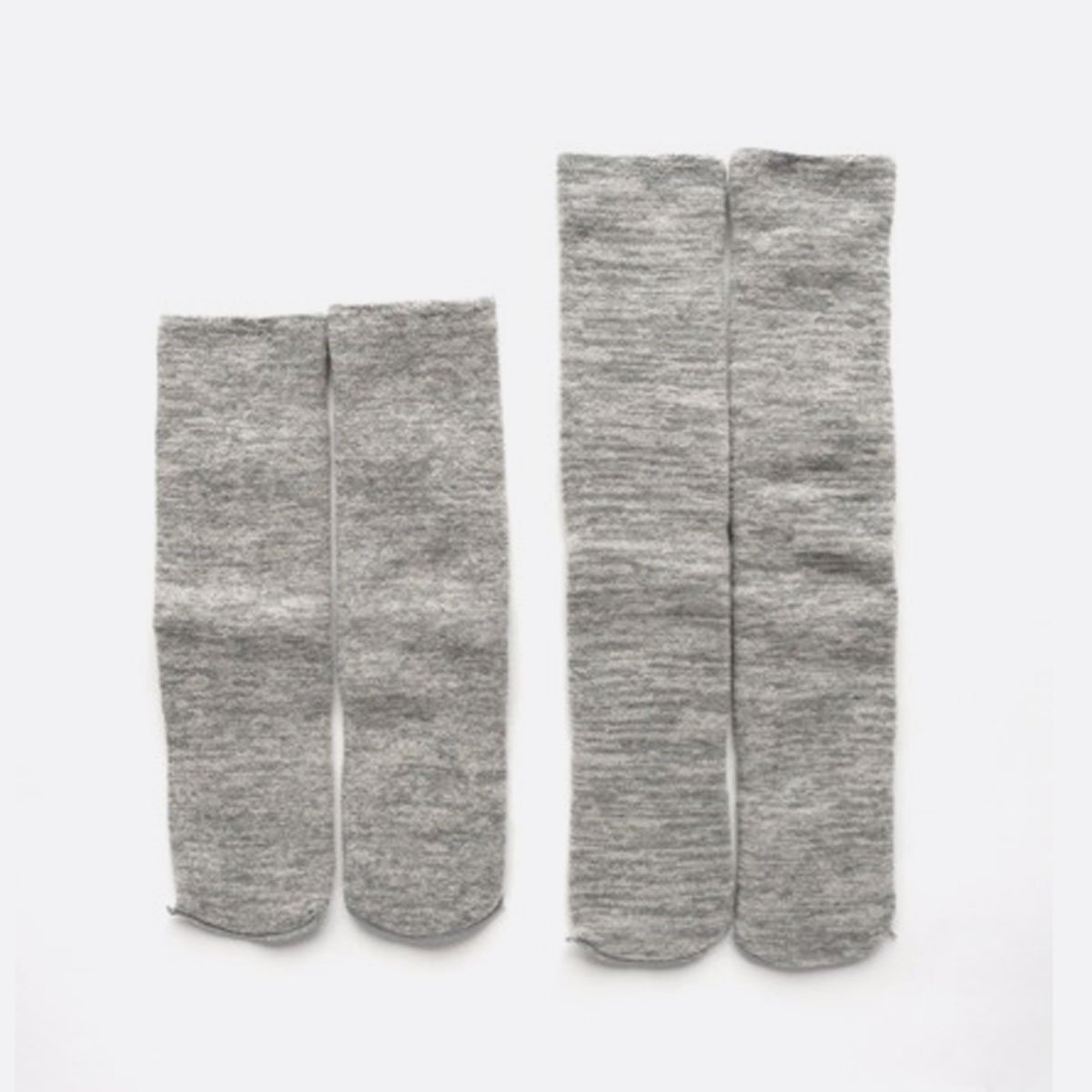 LOCALINA LONG TUBE SOCKS MIX (BEIGE)(GREY)(BLUE)(CHARCOAL)4