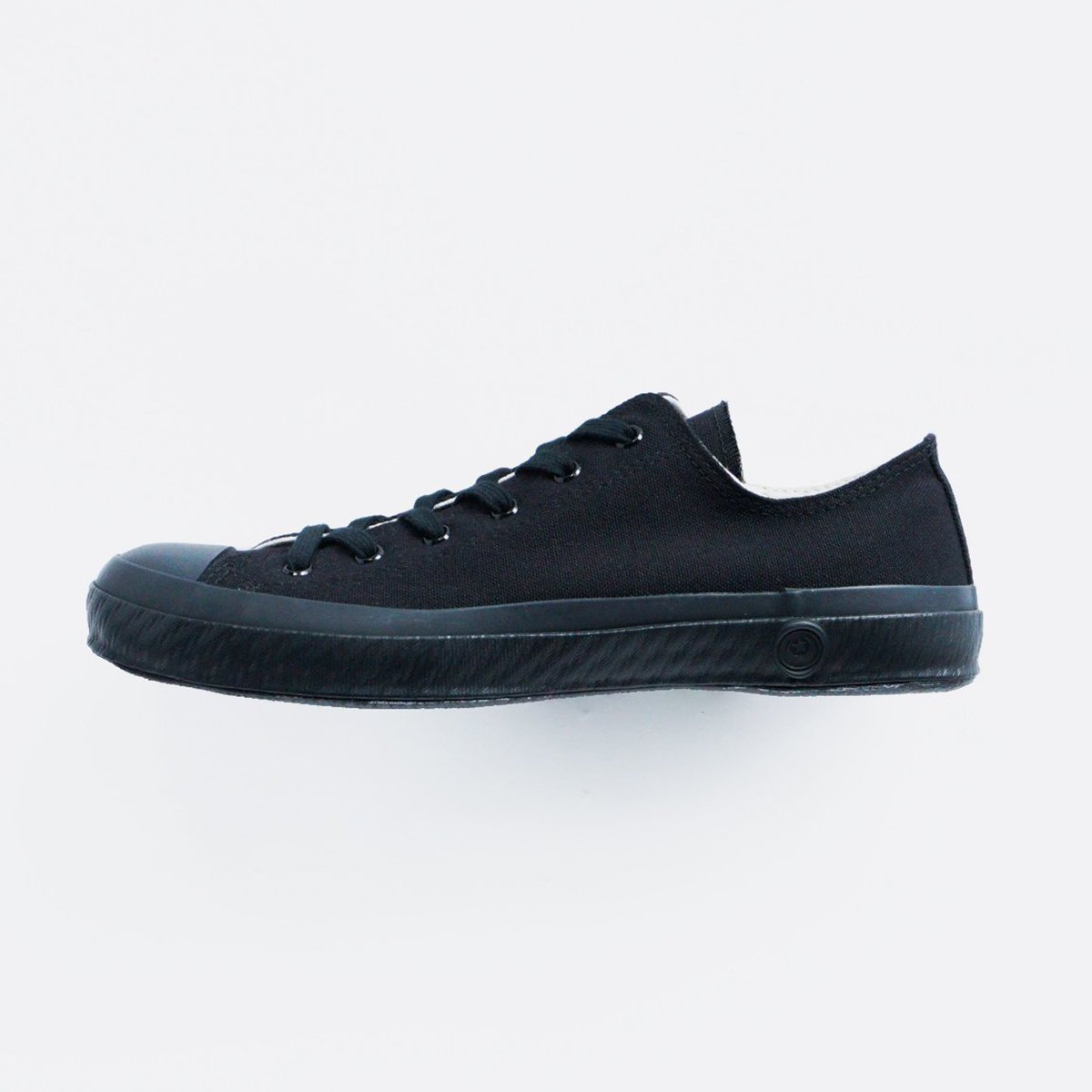 SHOES LIKE POTTERY CANVAS SNEAKER LOW (BLACK MONOCHROME)