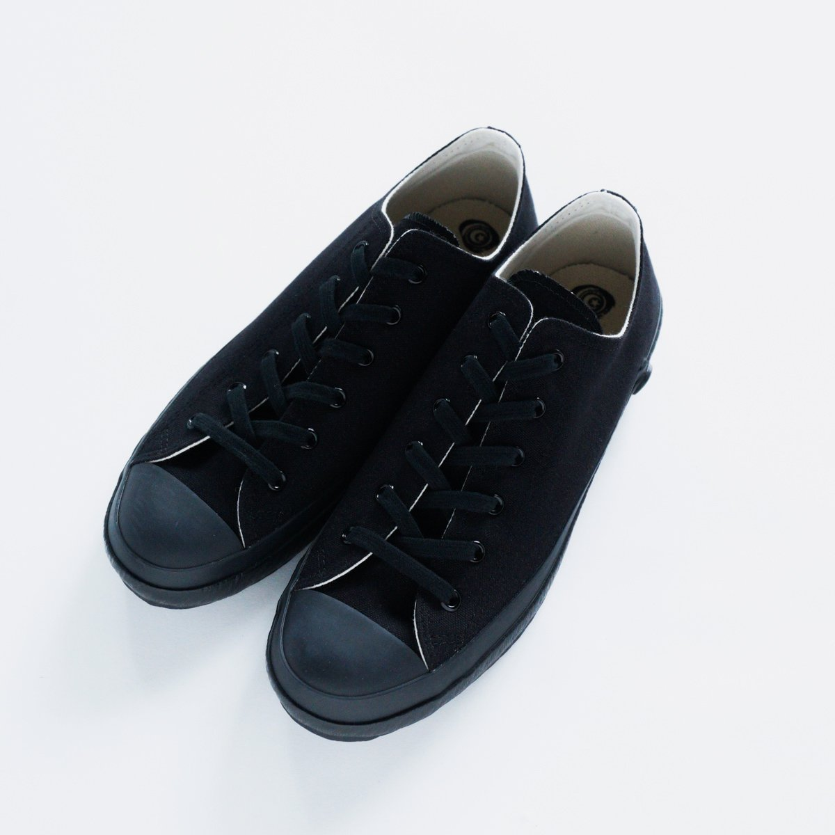 SHOES LIKE POTTERY CANVAS SNEAKER LOW (BLACK MONOCHROME)2