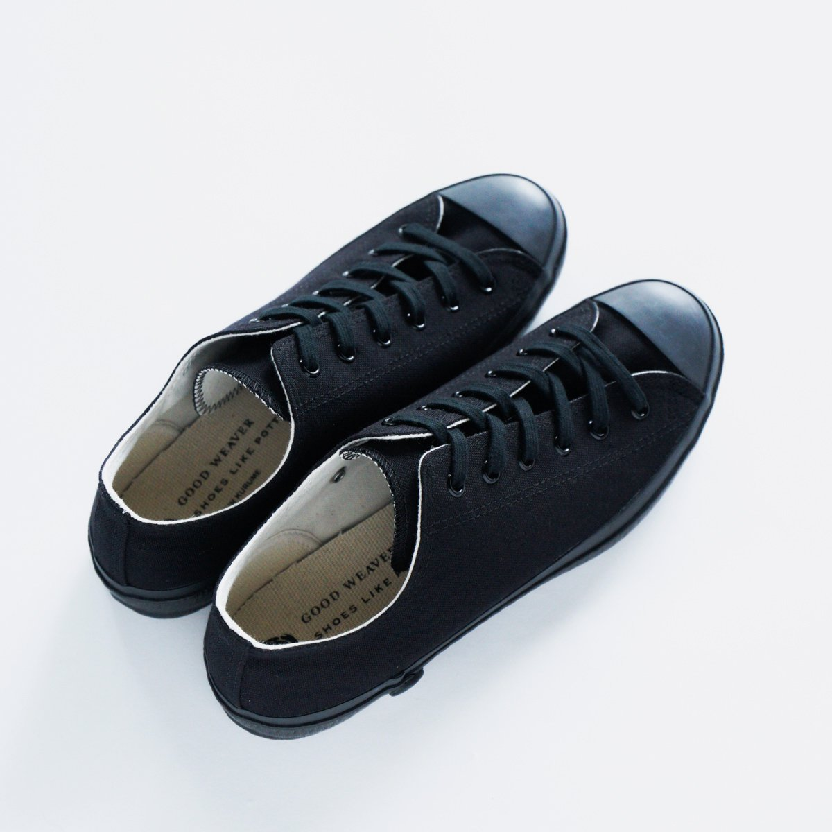 SHOES LIKE POTTERY CANVAS SNEAKER LOW (BLACK MONOCHROME)4